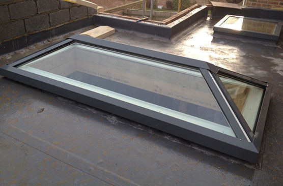Lantern Rooflight with no Intermediate Bars