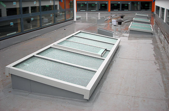Pitched Amp Monopitch Glazing Rooflight Architectural